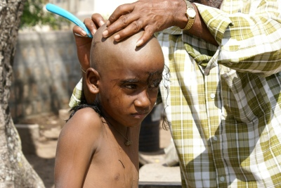 Boy in Mysore