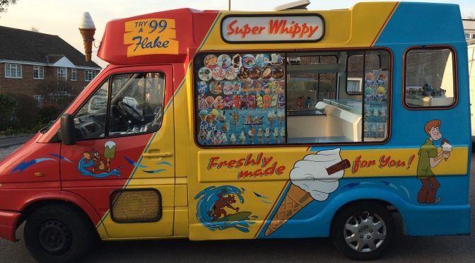 Not so sweet; Mr Whippy